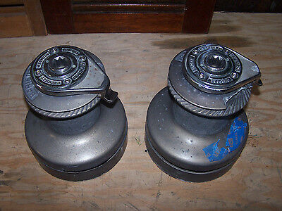 Pair of Barient 28+ ST, 2-Speed Winches