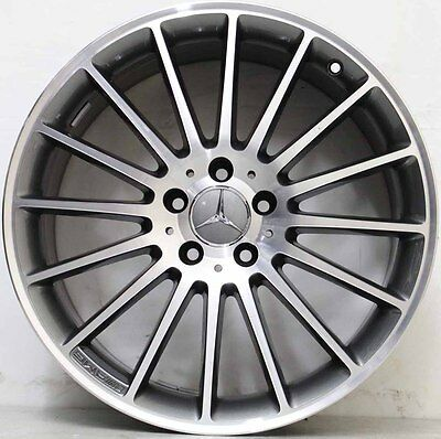 19 inch Genuine Mercedes Benz AMG CLA45/A45 ALLOY WHEELS IN POLISHED