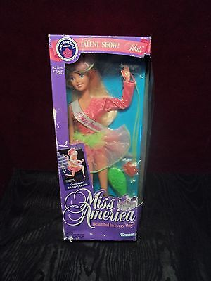 New old stock 1991 Miss America Talent Show Blair Gymnastic Doll Kenner