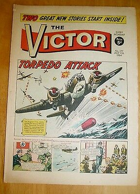 Spitfires & Beauforts  Attack German Convoy N.africa Ww2 Cover Story Victor 1964
