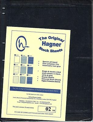 10 Hagner #2 Sheets *As New* Half Price *See Description!* Stamps Australia