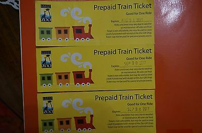Santa Barbara Zoo, CA Prepaid Train Tickets (3)