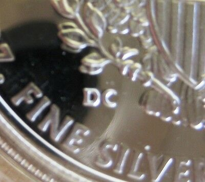 2009 *THICK DC* PROOF SILVER EAGLE POPULATION = 368 PROOFED COA,OGP & Coin World