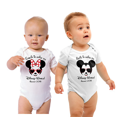I'm going to Disney T -shirt or baby body suit