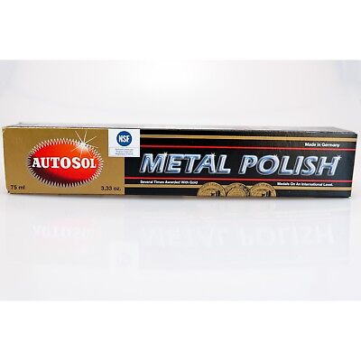 AUTOSOL Metal Polish Edel Chromglanz Metall Politur Chrompolitur 75 ml