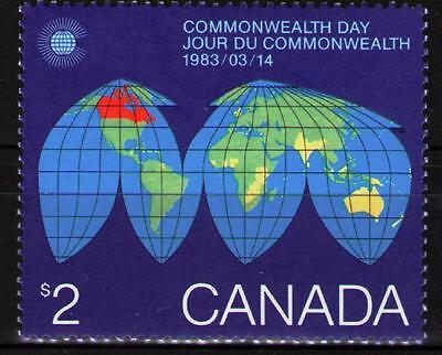 Canada 1983 Commonwealth Day  MNH