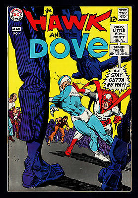 1968 DC  Hawk and the Dove #4 VG to FN