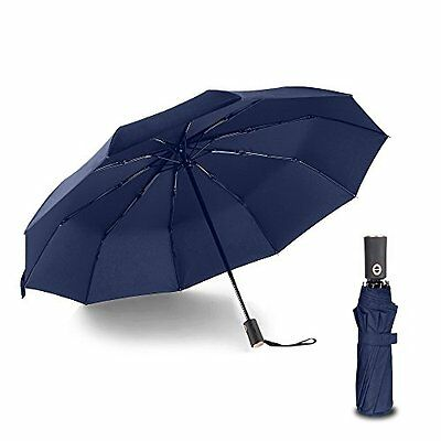 10 Ribs Travel Umbrella Golf Umbrella ,Best Compact Auto Open Close 210T