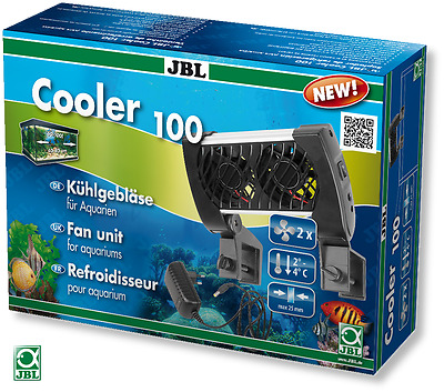 JBL Cooler 100 12v fan aquarium chiller cooling system aquarium fish tank
