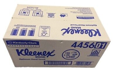 KLEENEX 4456 Optimum Hand Towel (Large) 20 packs of 120