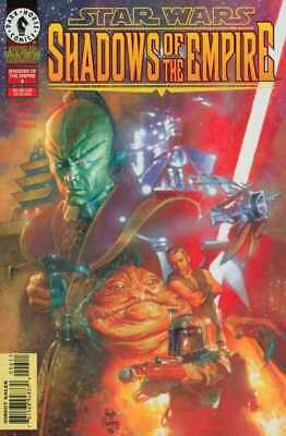 Star Wars: Shadows of the Empire #6 in Near Mint condition. FREE bag/board