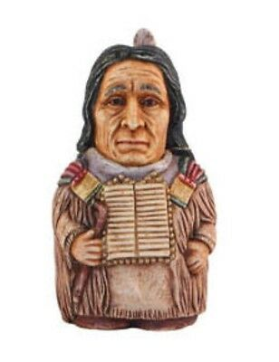 NIB Harmony Ball POT BELLYS Historical Figurine Collectible RED CLOUD
