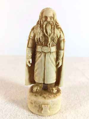 Lord of the Rings Chess Replacement - GIMLI White Rook - Return of the King