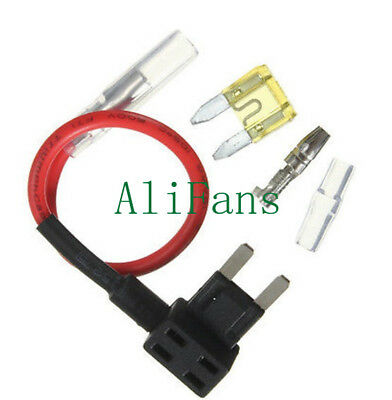 Small ACS Add A Circuit Piggy Back Pluggable Standard Blade Tap Fuse Holder ME