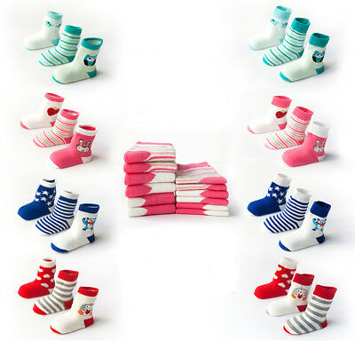 Baby Newborn Toddler Soft Boys Girl Cotton Socks Unisex Anti Slip Ankle Sock New