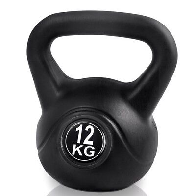 Everfit 12kg Fitness Gym Exercise Weightlifting Weights Kettlebell