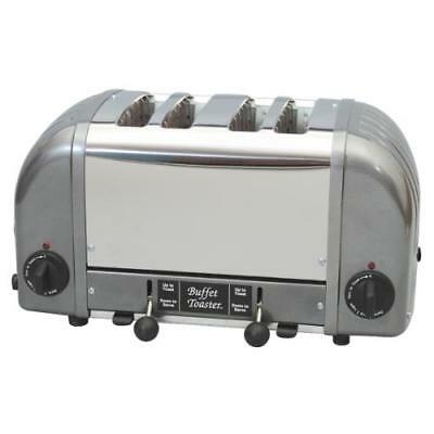Cadco - CBF-4M - 4 Slot Heavy Duty Buffet Toaster