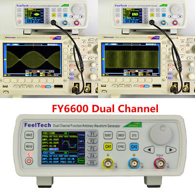 FeelTech FY6600 15-60MHz Function Arbitrary Waveform Pulse DDS Signal Generator