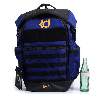 755c0ae5e511 Nike KD Trey 5 Basketball Backpack Blue Black Yellow Kevin Durant BA5389-450