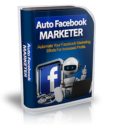 Facebook Money Making Software Program Robot $3,000 Value