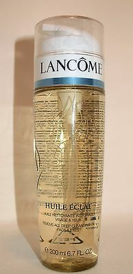 Lancome Huile Eclat 200ml New & Sealed Deep Cleansing Oil Make Up Remover