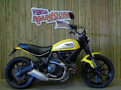 Ducati Scrambler 2015 1 Owner Only 2200 Miles ** UK Delivery **