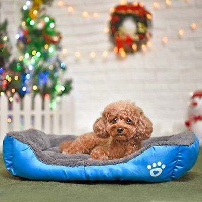 Candy Colors Pet Dog Cat Bed Puppy Cushion House Soft Warm Kennel Mat Blanket h2