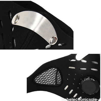 Winter Anti Dust Motorcycle Bicycle Cycling Ski Running Half Face Mask Filter