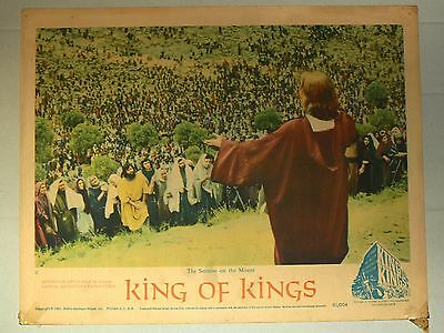 Theatre Lobby Card - King of Kings
