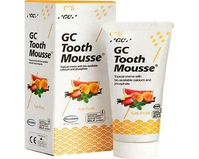 GC Tooth Mousse Recaldent Tutti-Frutti 40g / 35ml Tube Zahncreme