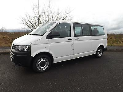 M1 Volkswagen Transporter LWB 9 Seat Wheelchair Accessible Bus