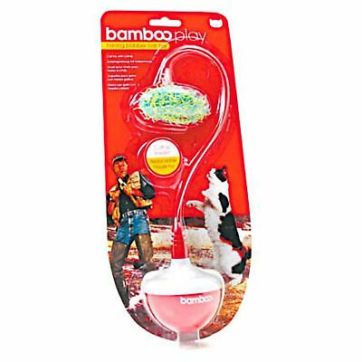 Munchkin Bamboo Weighted Mouse Catfisher Bobbing Cat Toy