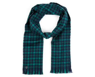 Ben Sherman Men's Woven House Gingham Scarf - Pine Grove