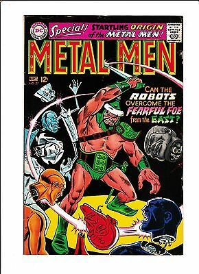 Metal Men No.27  : 1967 :   : Origin Of Metal Men :