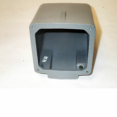 BRAND NEW HUBBELL BACK BOX GRAY FINISH 80 cu.in.. CAST ALUMINUM  CASING