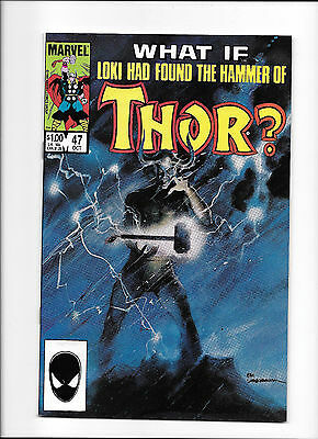 What If? #47  [1984 Nm-]  Loki Had Found The Hammer Of Thor?