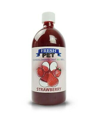 FRESH PET eco-Refill 25L - Kennel Cleaner - STRAWBERRY