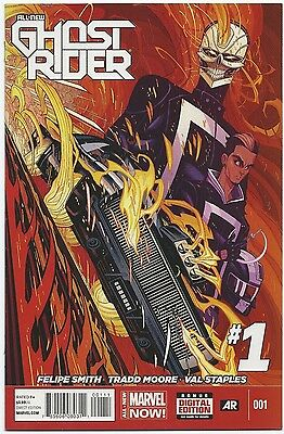 All-New Ghost Rider #1 (2014, Marvel) NM- 1st App Robbie Reyes! Agents of Shield