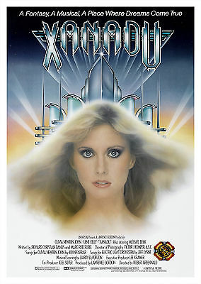 Xanadu (1980) - A2 A3 A4 POSTER ***LATEST BUY 1 GET 1 FREE OFFER***