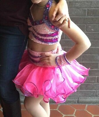 Child Large Two piece dance costume
