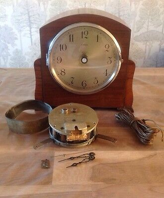 Antique Vintage Electric American Mantle Clock For Repair  9x9x5""