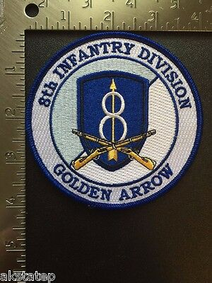 US ARMY 8th INFANTRY DIVISION COMMEMORATIVE PATCH