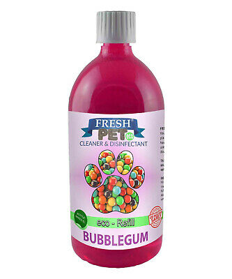 FRESH PET eco-Refill 25L - Kennel Disinfectant | Cleaner | BUBBLEGUM