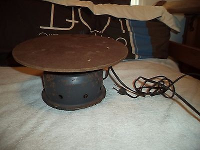 Vintage Working brevel products Turntable Revolving Display,