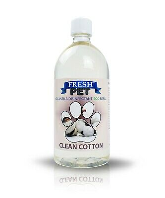 FRESH PET eco-Refill 25L - Kennel Disinfectant | Cleaner | CLEAN COTTON