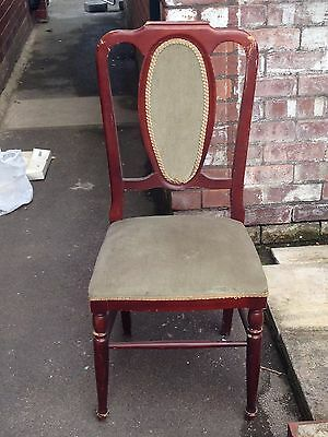 Set Of 6 Old Dining Chairs