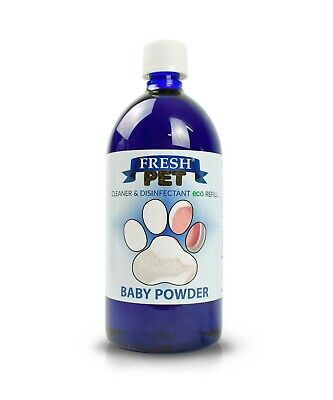 FRESH PET eco-Refill 25L - Kennel Disinfectant BABY POWDER