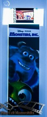 Film Cell Bookmark 35mm - Monsters INC Movie Memorabilia Gift RARE