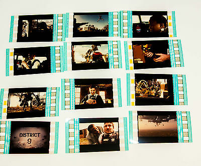 District 9 - 12 x 35mm Film Cell Lot movie memorabilia Aus Seller