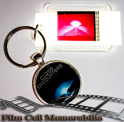 Close Encountes - 35mm Film Cell Movie KeyRing and Pendant Keyfob Gift